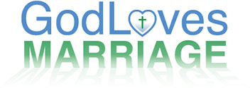 God Loves Marriage Logo